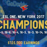 FaZe rentabiliza a GuardiaN y Olof con la victoria en la ESL One New York