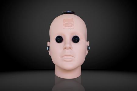 """Esta aterradora cabeza es una cámara de 360 grados para grabar porno de una forma más """"intima"""""""