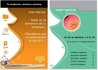Cinco aplicaciones de iPhone para embarazadas