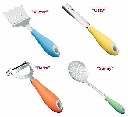 Divertidos utensilios de cocina