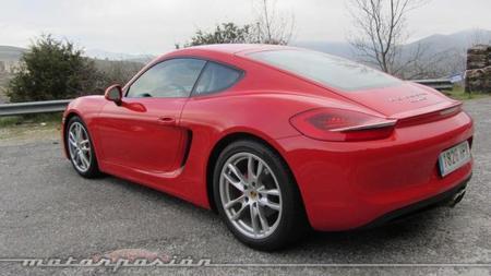 Porsche Cayman 2013 trasera lateral