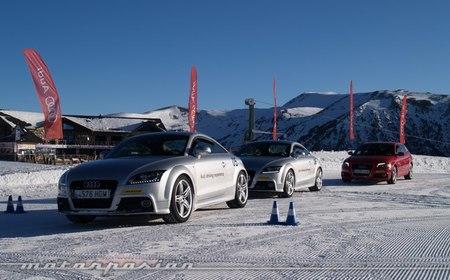 Audi winter driving experience circuito de Grandvalira Soldeu