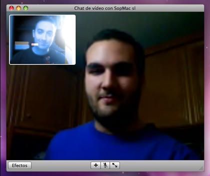 Videoconferencia en MacOS X