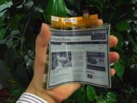 LG tiene listas para abril sus pantallas de papel electrónico flexibles