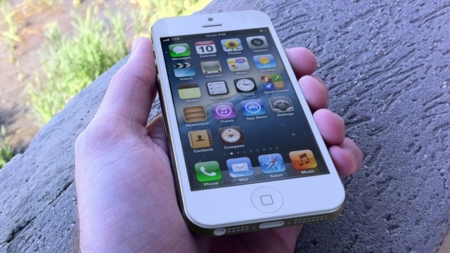 Posible imagen de un iPhone 5