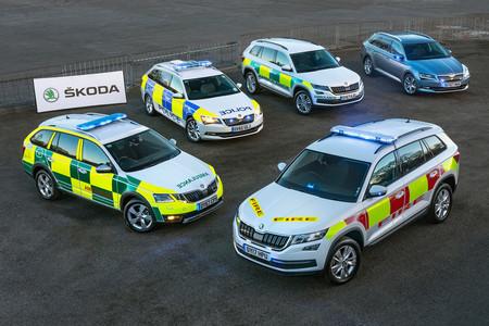 Skoda Flota Emergencias Reino Unido