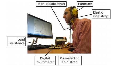 Estos auriculares generan energía mientras mascas un chicle