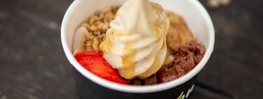 Es tiempo de yogurt helado. ¡Cuidado con los toppings!