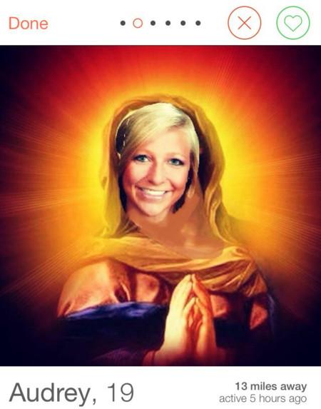 Virgen Maria Tinder