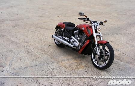Harley-Davidson V-Rod Muscle, prueba (conducción en autopista y pasajero)