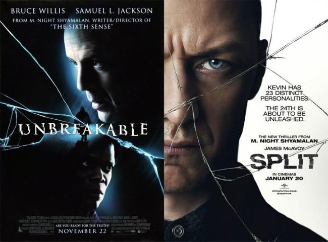 Unbreakable y Split