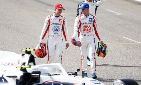 Mazepin Schumacher Sakhir F1 2021