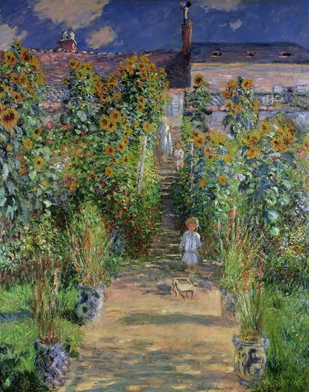 Claude Monet Monet S Garden At Vetheuil 1880