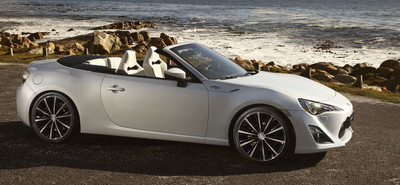 Toyota FT-86 Open Concept, prototipo del GT 86 descapotable