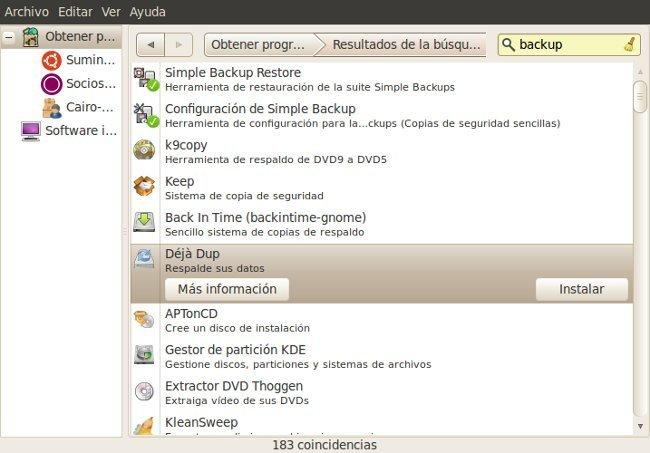 Backup en Linux