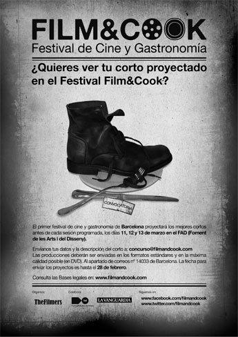 Festival de cortos en Film&Cook