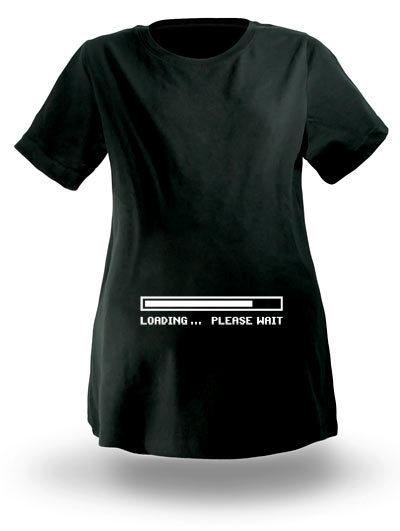 Camiseta para una futura mamá geek