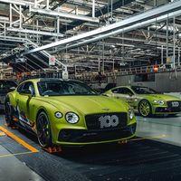 El primer Bentley Pikes Peak Continental GT by Mulliner sale de la línea de producción