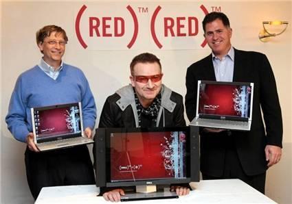 Imagen de la semana: Dell y sus productos rojos