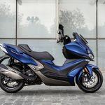 El Kymco Xciting S 400 llegará en septiembre por 6.399 euros y con un GPS específico para moto
