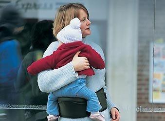 Hippychick hipseat, para cargar al bebé sin dolor de espaldas