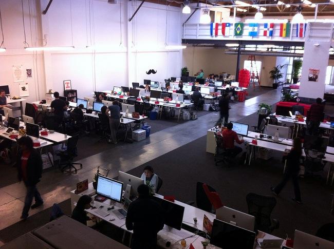 Espacios para trabajar las oficinas de pinterest for Espacios para oficinas