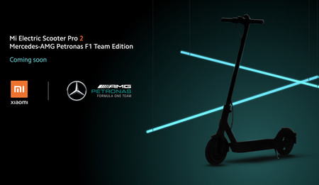 Xiaomi Mi Electric Scooter Pro 2 Mercedes F1 Edition 2020