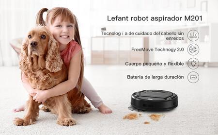 Robot Aspirador Lefant