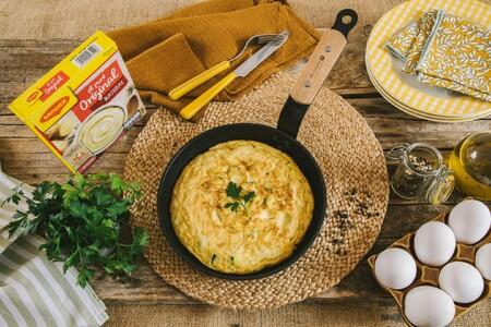 Por qué mucha gente tiene la tortilla de patata y calabacín como su receta favorita de este clásico