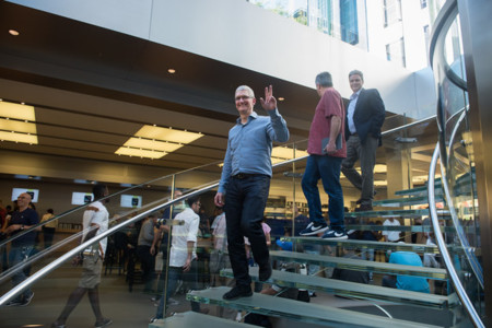 Tim Cook se refiere al Apple Car con un 'no comment'