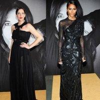 Todas llevan Givenchy en la fiesta organizada por Riccardo Tisci y Marina Abramovic