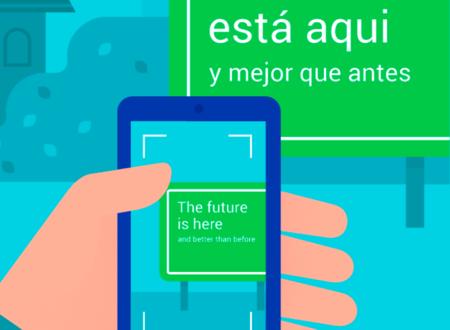 Google Translate se actualiza, su WordLens soporta 20 nuevos idiomas