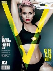 Miley Cyrus es la protagonista de la nueva portada de V Magazine. ¿A favor o en contra?