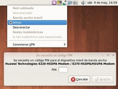 Configurar un módem USB de banda ancha móvil en Ubuntu 9.04