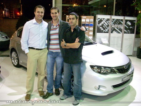 Con Esteban Viso y Daniel Seijo (2007)