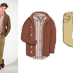 Foto 9 de 10 de la galería looks-ilustrados-de-andrew-mashanov-para-gant-rugger en Trendencias Hombre