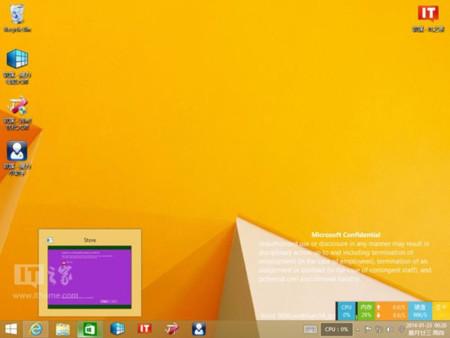 Aspecto de Windows 8.1 Update 1