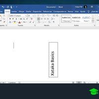 Cómo poner texto vertical en Word
