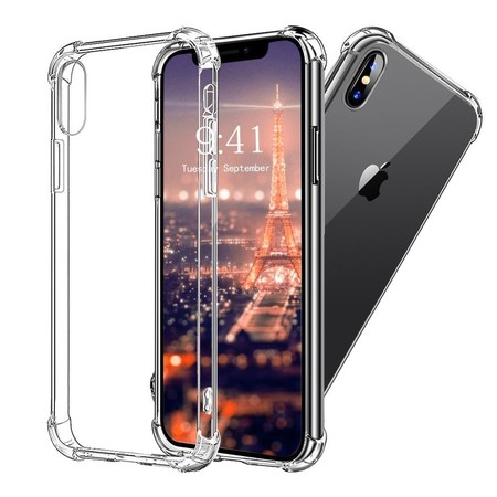 funda iPhone X transparente