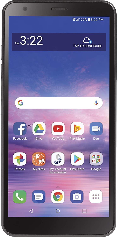 Tracfone LG Journey 4G LTE con 32GB de almacenamiento y 2GB de RAM - Negro