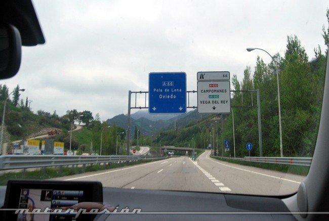 Autovía en Asturias
