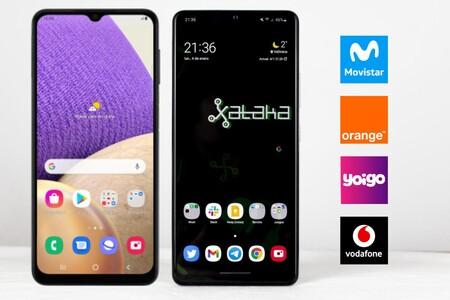 Dónde comprar los Samsung Galaxy A32 5G y A42 5G más baratos: comparativa ofertas con Movistar, Vodafone, Orange y Yoigo