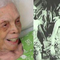 La bailarina de 102 años que se conmueve al verse por primera vez en las películas que creía perdidas