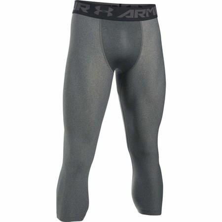 Desde sólo 10,90 euros tenemos los leggings de 3/4 de Under Armour 1289574 en gris en Amazon