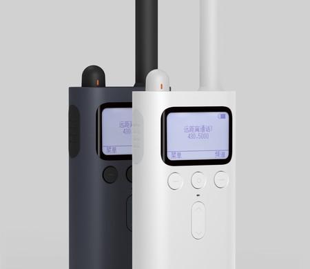 Lo nuevo de Xiaomi son unos Walkie-Talkie con radio FM, localización y ocho días de autonomía por 36 dólares