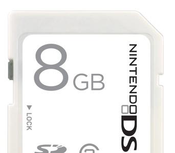 Tarjeta de memoria Sandisk para la consola Nintendo DSi