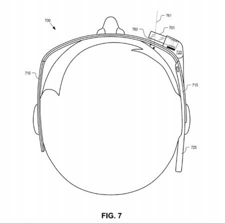 Google Glass añade hologramas en una nueva patente