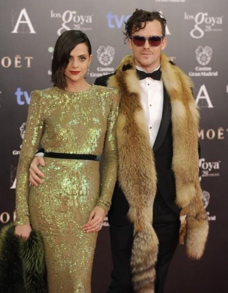 ¡Viva el exceso! Macarena Gómez y Aldo Comas en la alfombra roja de los Premios Goya 2014