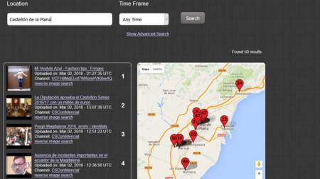 ¿Buscas vídeos de tus vecinos? Geo Search Tool encuentra en YouTube los grabados cerca de ti