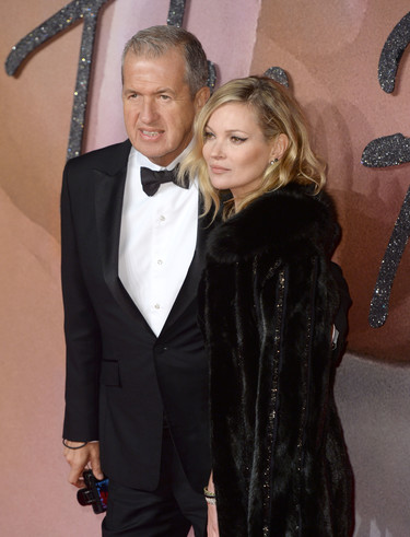 Kate Moss, la Cruella de Vil de los British Fashion Awards 2016